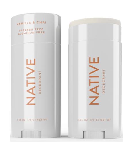 Native Vanilla Chai Deodorant