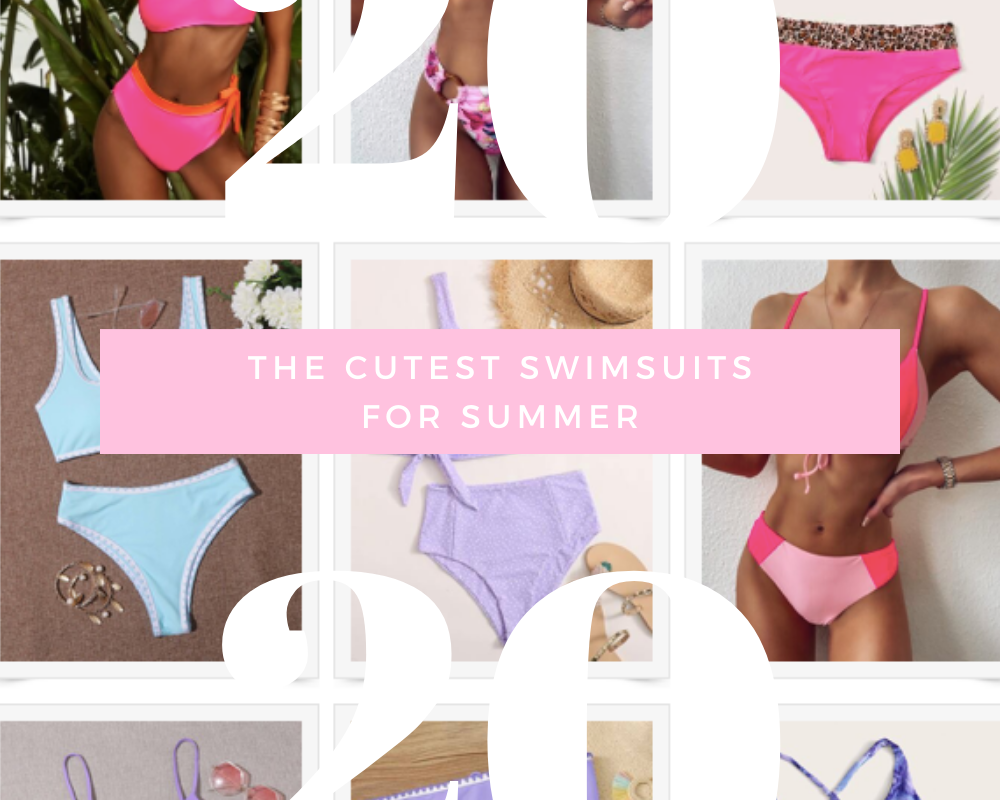 The cutest swimsuits for summer 2020